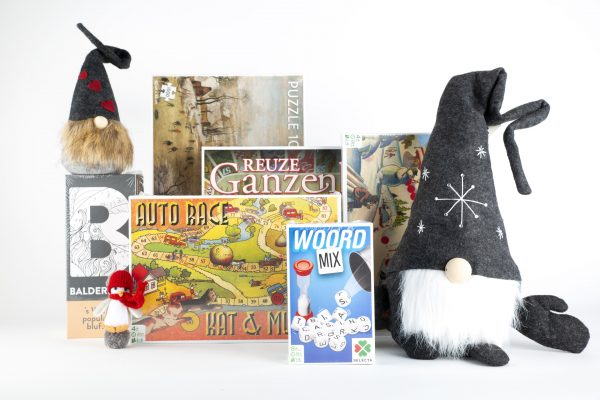 Kerstpakket gezelschapsspellen Let the game begin - Toff geschenk-